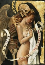 Death and the Maiden - Classic Painting Beauty and Nature