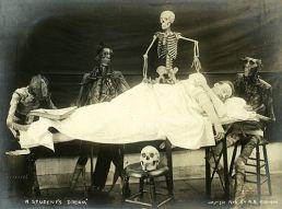 EOF- Vintage Skeleton Autopsy