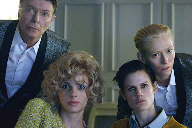 gender bending androgyny - david bowie tila swinton andrej pejic saskia de brauw-the stars(are out tonight) 2013