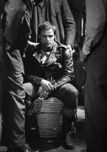 Johnny- The Wild One- Vintage Marlon Brando- Black and White- Mens Fashion Icon- Rebel Style- at The Eye of Faith - February 19 2013