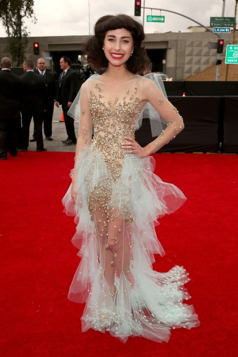 Kimbra AT THE GRAMMYS 2013