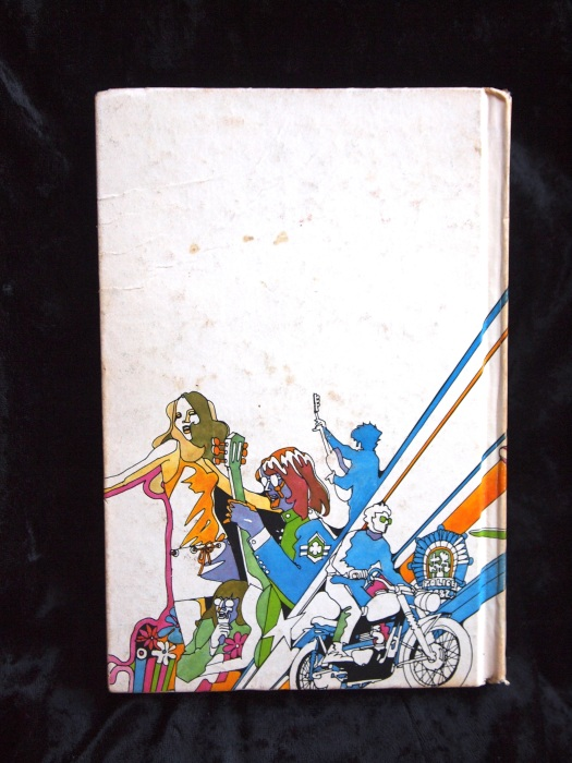 Back Cover of THE MOD SQUAD 1969 Book