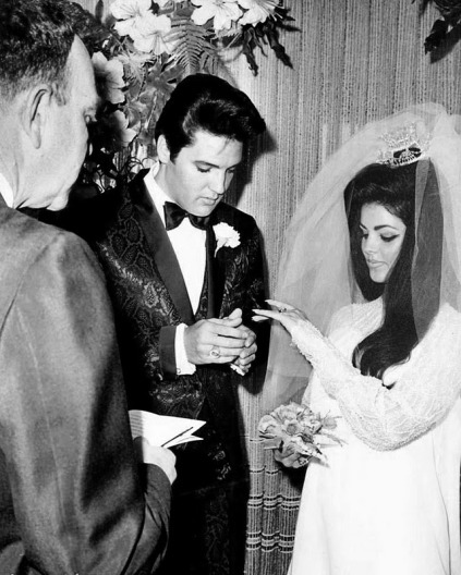 Priscilla Presley getting Married - 1970s glamour - Katy Perry Grammy Inspiration