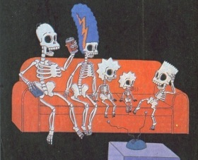 Simpsons Skeleton