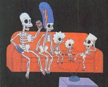 Simpsons Skeleton
