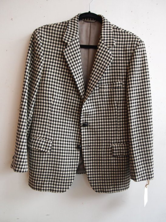 THE EYE OF FAITH VINTAGE- Ouija Board Houndstooth Black and White Morrisey Blazer