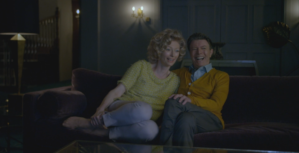 Tilda Swinton and David Bowie - The Stars (Are Out Tonight) Music Video 2013