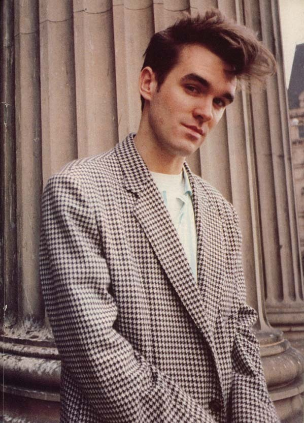 Young Morrissey -Vintage Mens Fashion Style- the eye of faith