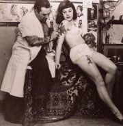 1940s Tattooed Beauty - Vintage Style Inspiration at The Eye of Faith