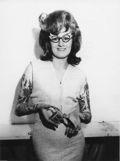 1960s Tattooed Sweetheart- Eccentric Jane Has Got Serious Ink Skills- Vintage style inspiration- rebels in society- punk history