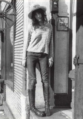 BAD ASS PATTI SMITH - STRIPES jeans and fashion musery