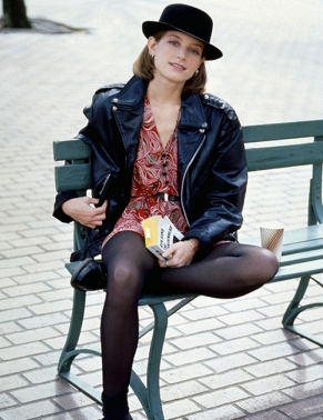 bridget fonda in single- saint laurent 2013- vintage style inspiration