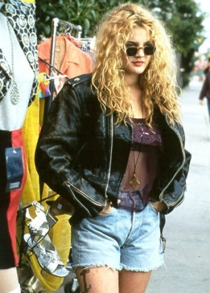 drew barrymore is bad ass in poison ivy- vintage style inspiration