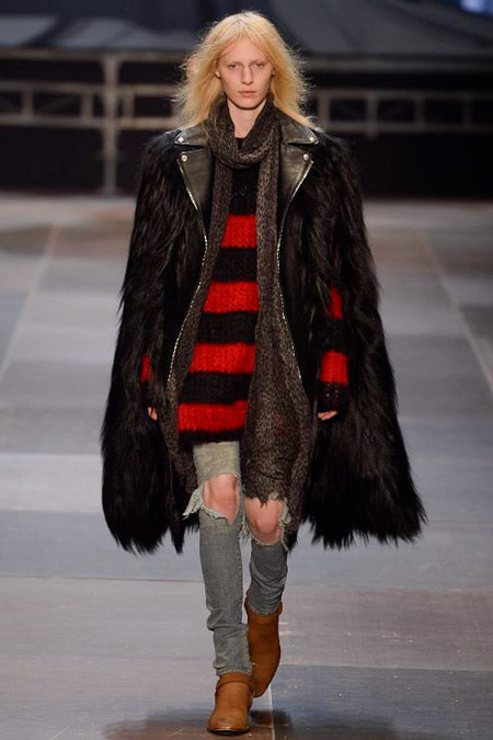 elegantly wasted- saint-laurent-paris-fashion-week-fall-2013-06