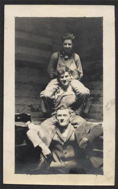 group of three men- vintage workwear style inspiration