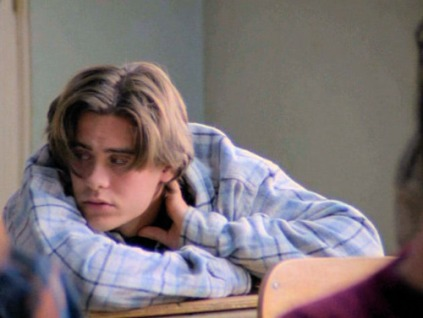 jordan catalano-plaid shirt realness-vintage style inspiration-elegantly wasted-saint laurent 2013