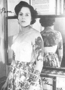 Pam - The Rebel Queen- Tattooed 1950s Beauty- Vintage Style Inspiration from The Eye of Faith