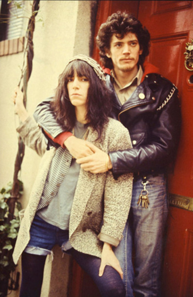 PATTI SMITH and robert mapplethorpe in living colour