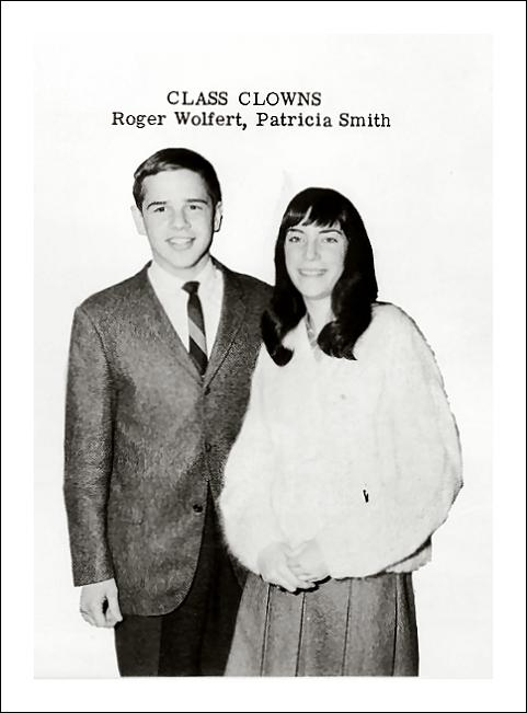 patti smith- class clown -yearbook vintage