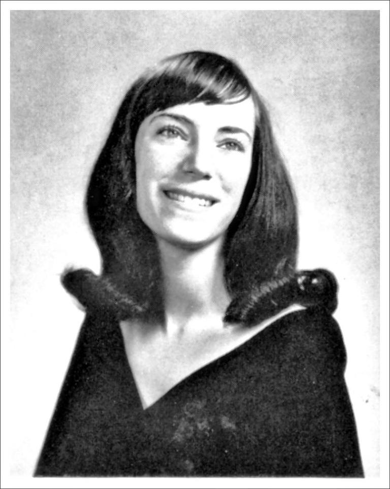 patti smith- yearbook photo