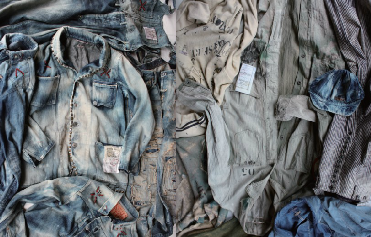 piles and piles- real vintage mens workwear - style and fashion - rebel inspirations