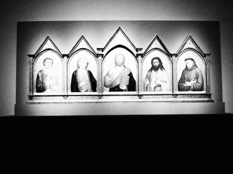 Revealing the Renaissance at the AGO - secrets in florentine art - the Peruzzi Altar Piece