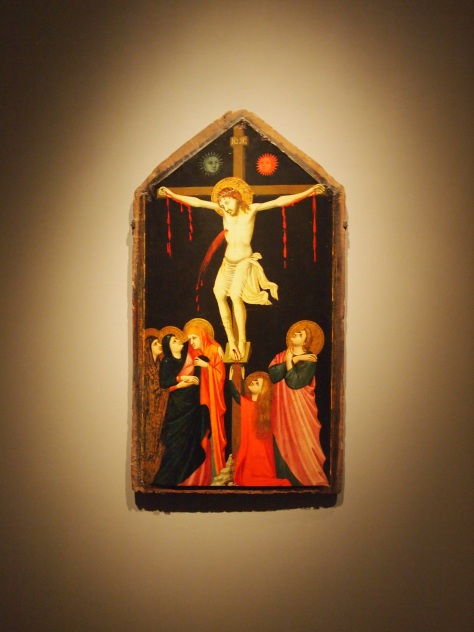 The Crucifixion by Pacino Bonaguida at the AGO - March 12, 2013 - Revealing the Early Renaissance: Stories and secrets in florentine art
