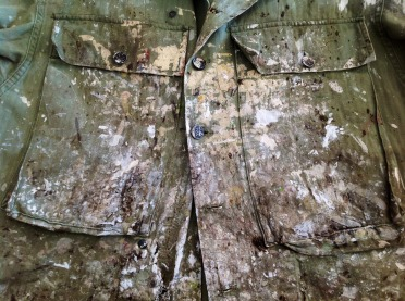 stained and splattered- the look of workwear- vintage mens fashion and style inspiration