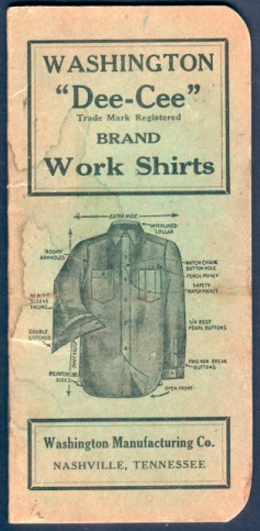 vintage mens workwear fashion advertising- 1930s