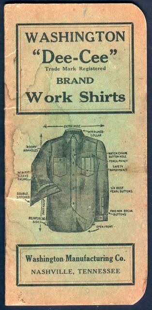 vintage mens workwear fashion advertising- 1930s