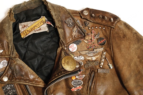 Vintage Schott Motorcylce Jacket (courtesy of VICE)