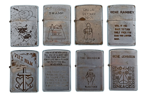 Vintage Vietnam War Veteran Lighters II