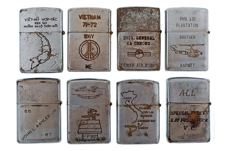 Vintage Vietnam War Veteran Lighters III