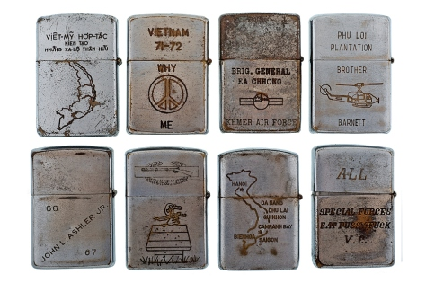 Vintage Vietnam War Veteran Lighters III