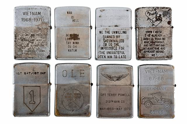 Vintage Vietnam War Veteran Lighters IV