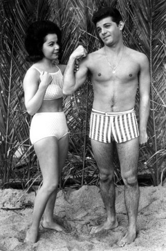 annette funicello beach bathing suit americana vintage