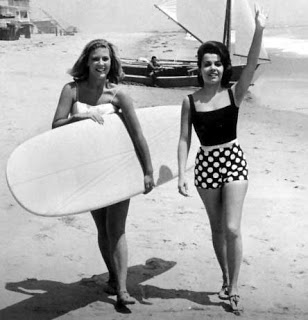 annette funicello surf girls vintage americana style fashion inspiration summer 2013