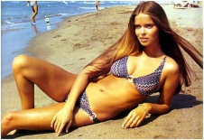 Barbara Bach- Goddess of the Beach