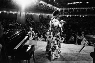 Ella Fitzgerald Singing in Lucerna Hall