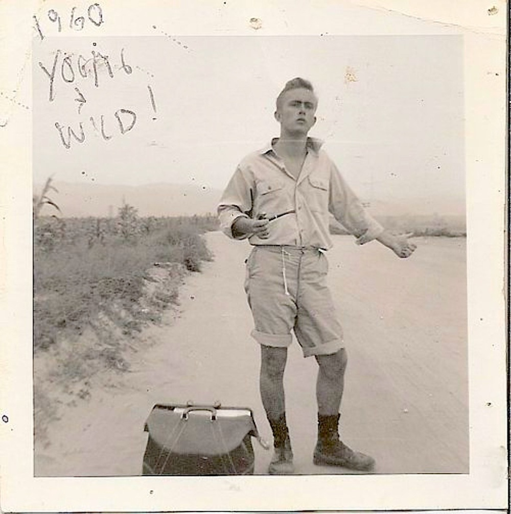 Hitching a Ride with Time- Young and Wild 1960 - Vintage photo