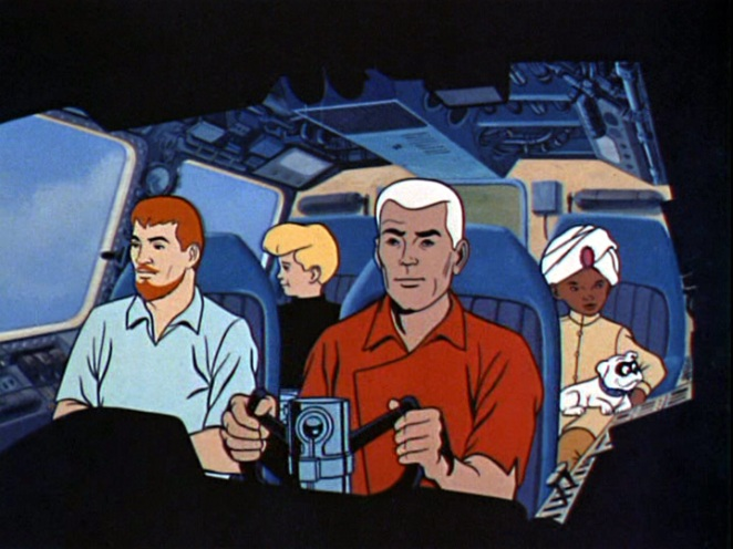 jonny quest- the family