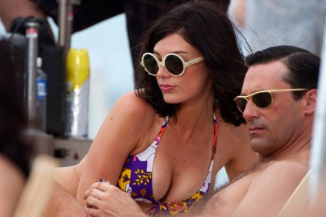 mad men season 6 jessica pare and jon hamm