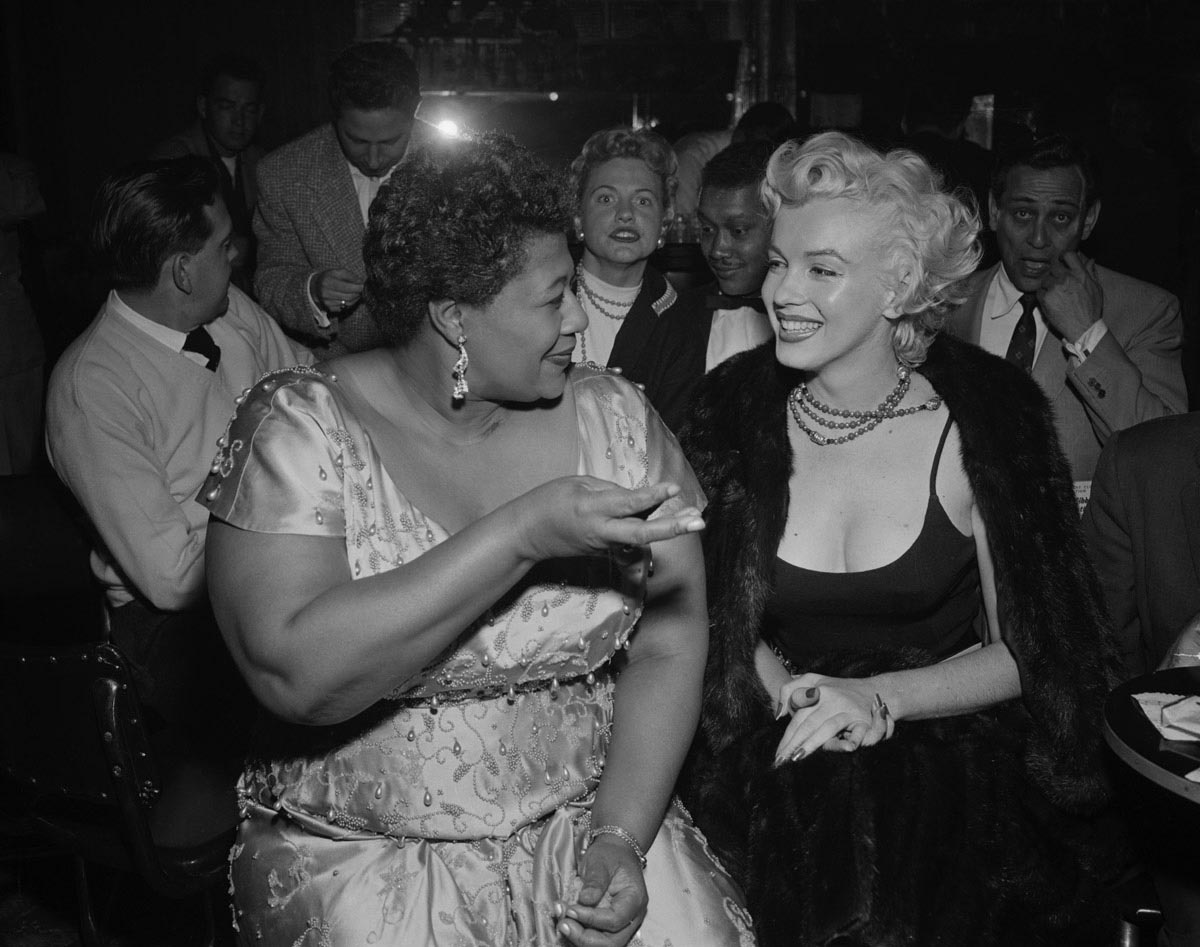 marilyn monroe starstruck by ella fitzgerald - vintage hollywood
