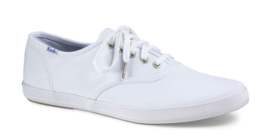 Mens Original Champion White Keds 1