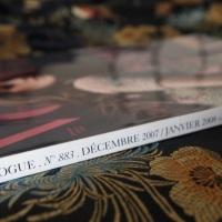 +E.O.F.+ LEGENDARY ISSUES No. 2 - PARIS VOGUE {Dec 2007/Jan 2008} Charlotte Gainsbourg Signed Cover