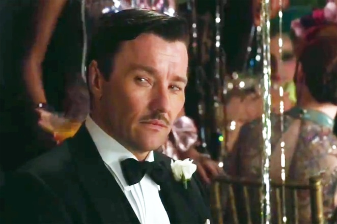secret society style- joel edgerton as tom buchanan