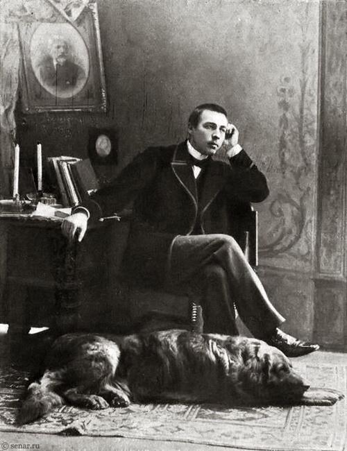 Sergei Rachmaninoff - Young