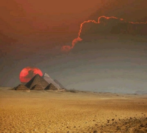 The Power of Time - Egypt - Giza - Lightning Bolt Strike