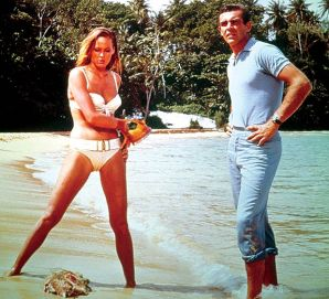Ursula-Andress-with-Sean-Connery
