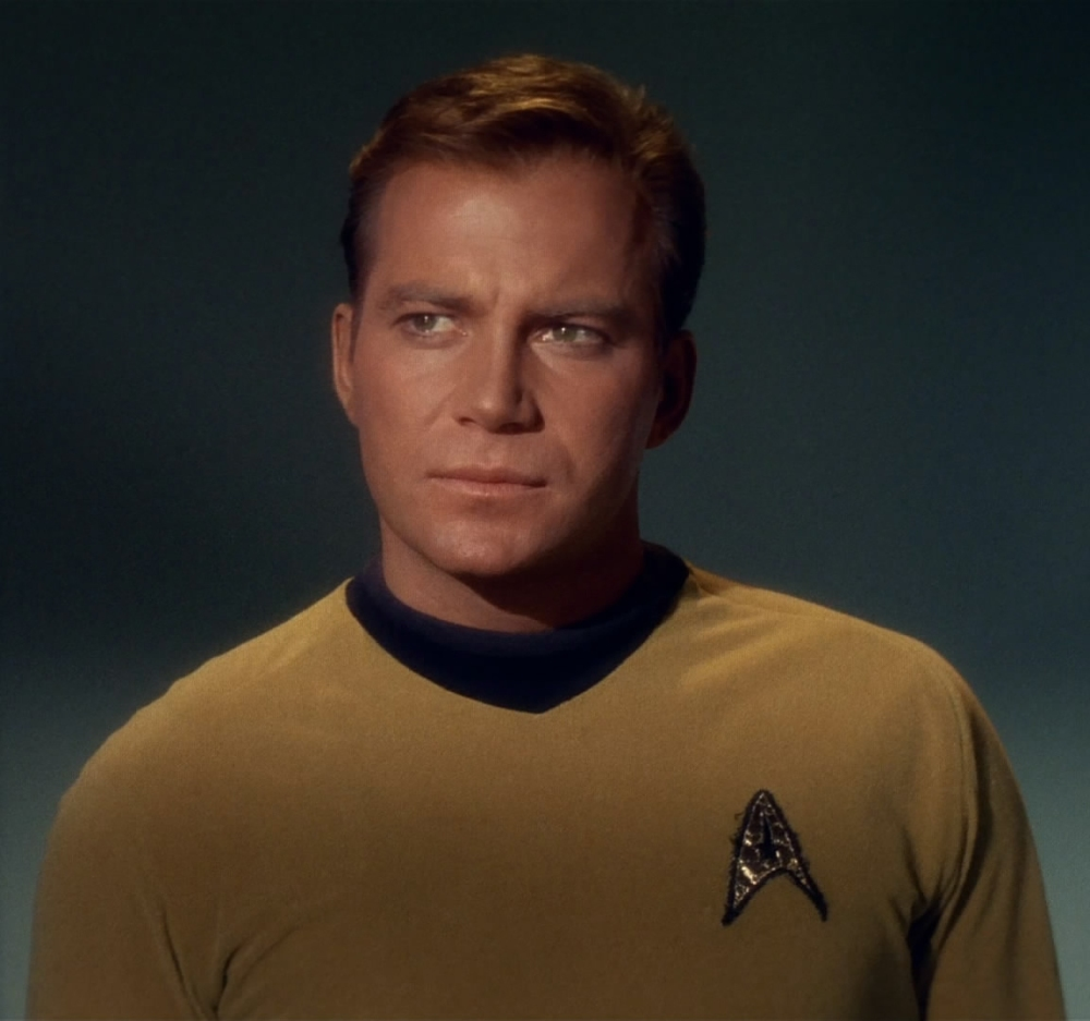 William Shatner- Captain James Kirk
